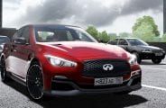 Infiniti Q50 Er 2014  Mod for City Car Driving v.1.5.1 - 1.5.6