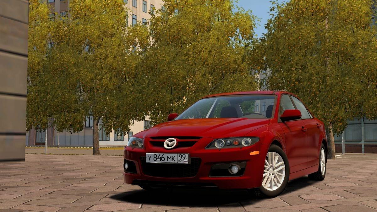 Mazda 6 Mps Mod for City Car Driving v 1 5 1 - 1 5 6