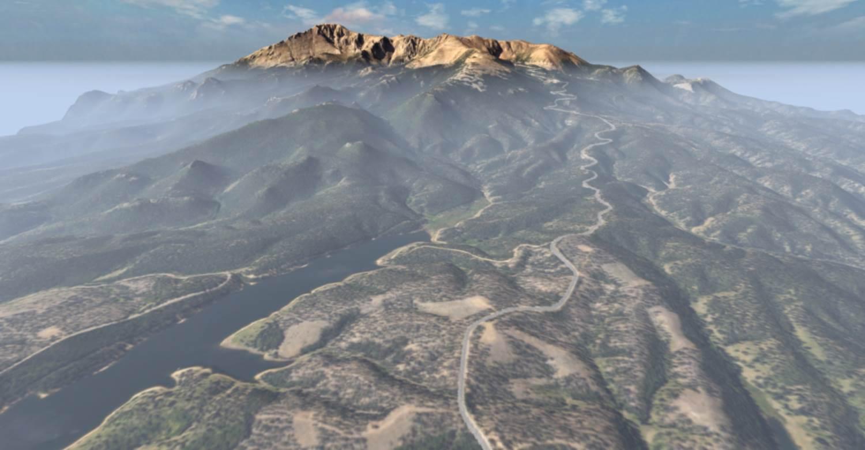 Image of: Pikes Peak Lidar Edition 0 78 1 Mod For Beamng Drive