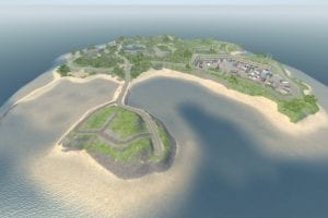 Section Island 0.7 Mod for BeamNG Drive