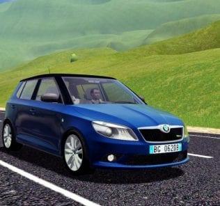 Skoda Fabia Rs 2010 Hatchback Mod for City Car Driving v.1.5.2 - 1.5.6