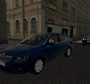 Skoda Octavia 1.6 Mpi At Mod for City Car Driving v.1.5.0 - 1.5.6