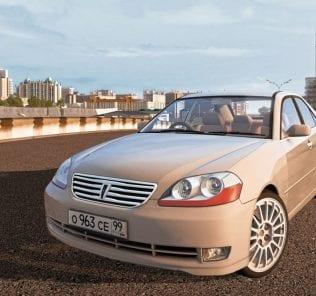 Toyota Mark Ii X110 2004 Mod for City Car Driving v.1.5.1 - 1.5.6