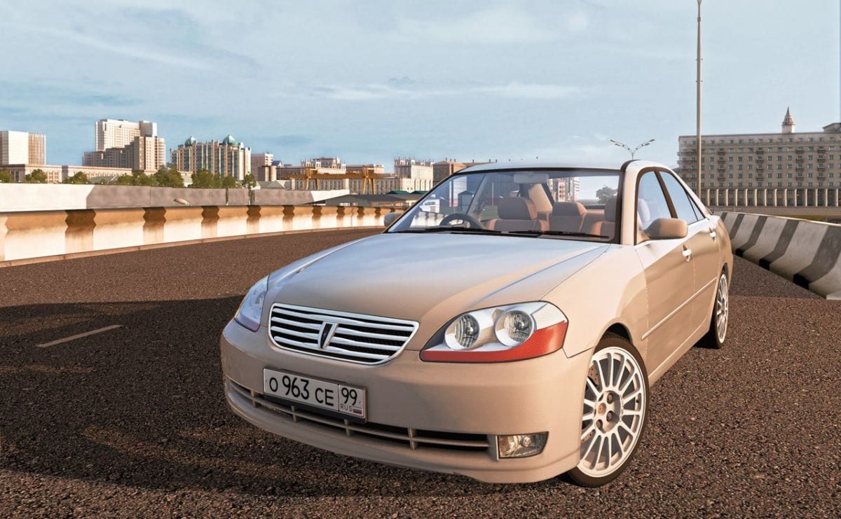 Toyota Mark Ii X110 2004 Mod for City Car Driving v 1 5 1
