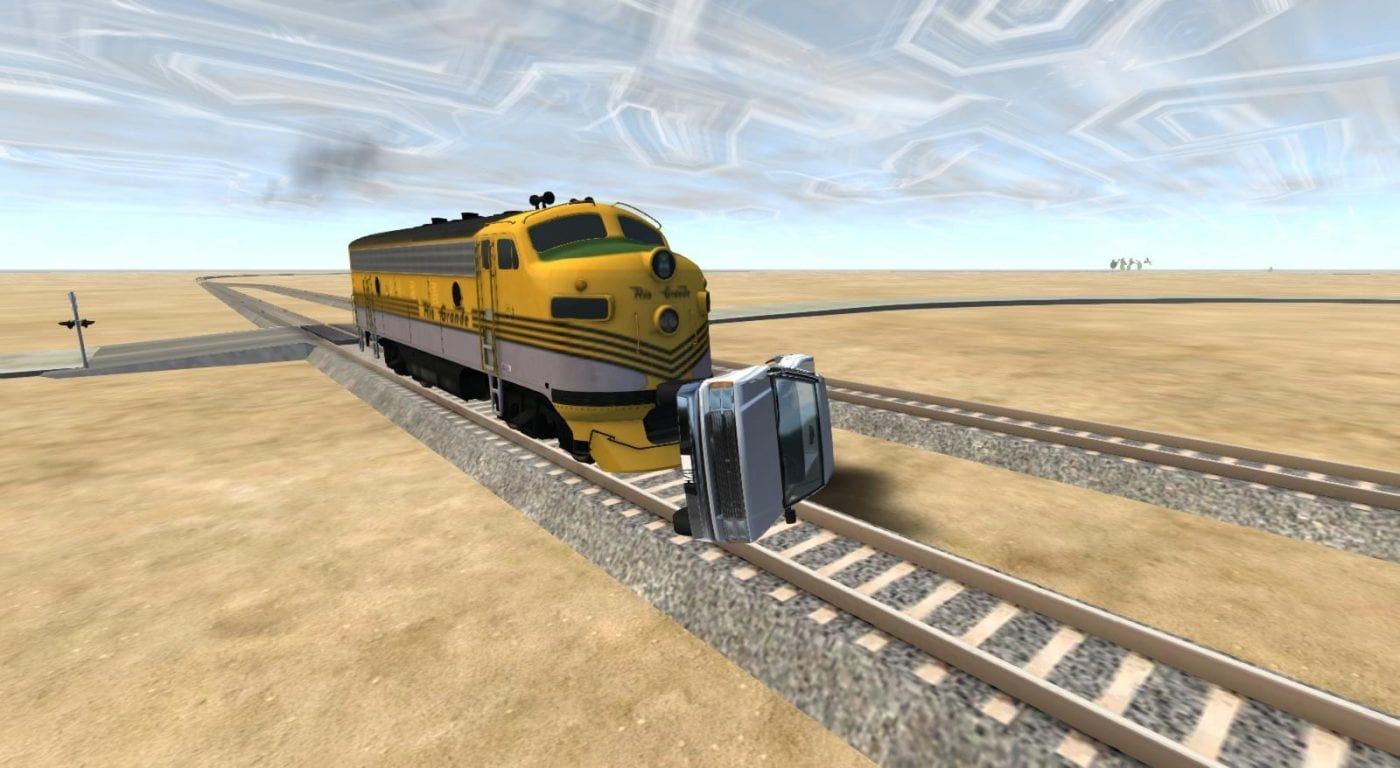 Train Test Map Mod For Beamng Drive