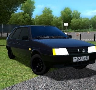 VAZ 2109 «Oper Style»  Mod for City Car Driving v.1.5.1 - 1.5.6