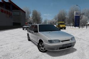 VAZ 2114 Mod for City Car Driving v.1.5.1 - 1.5.6