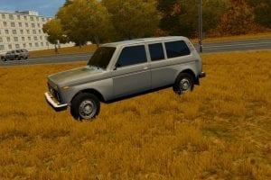 VAZ 2129 (Niva) Mod for City Car Driving v.1.5.2 - 1.5.6