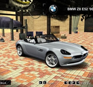 2000 BMW Z8 E52 Mod for Need For Speed Most Wanted