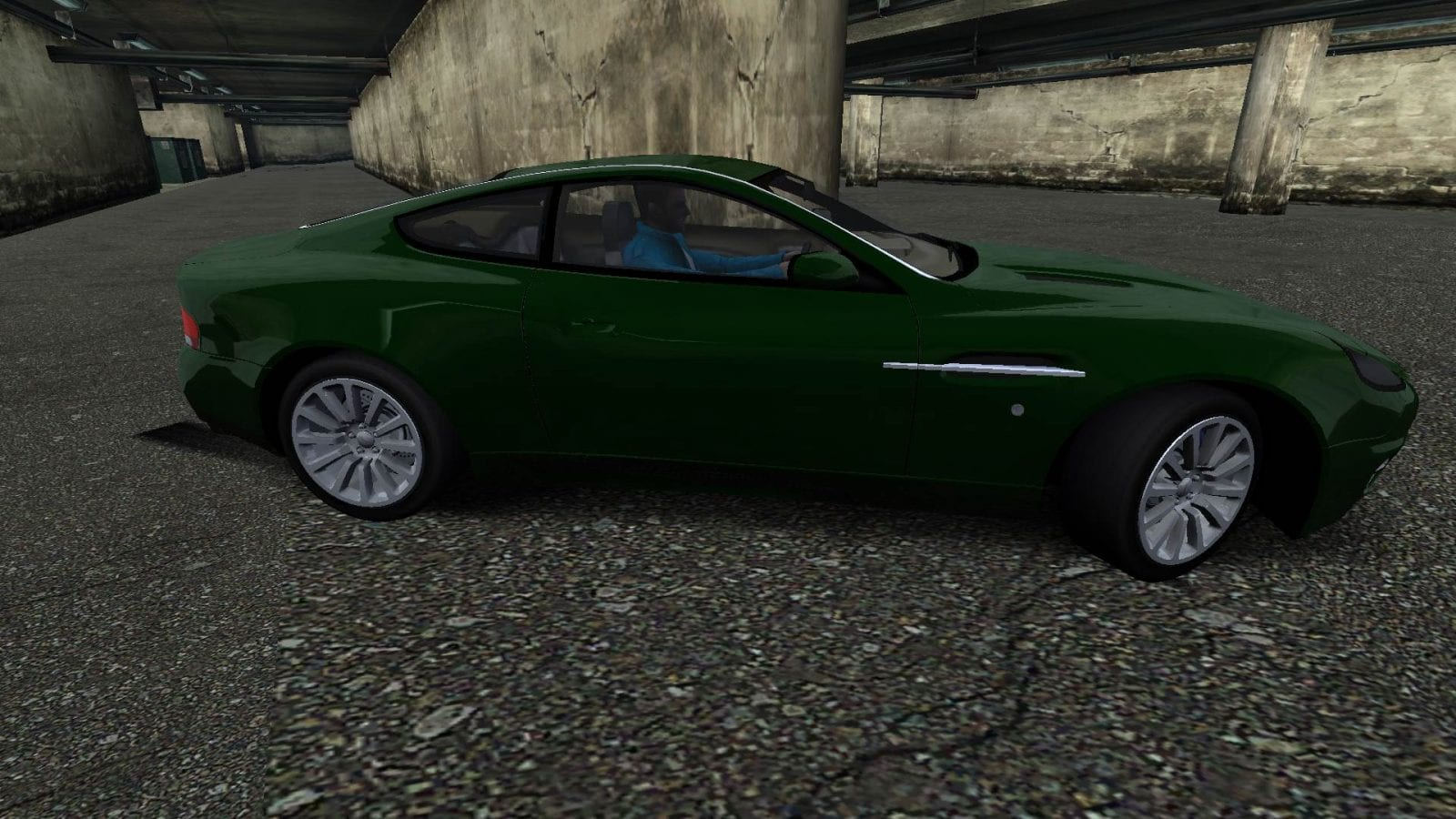 2001 Aston Martin V12 Vanquish Mod for Need For Speed Most