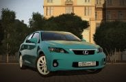 2011 Lexus Ct200H Mod for City Car Driving v.1.5.4 - 1.5.6