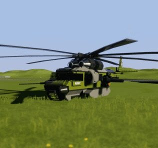 Army Helicopter Mod for Brick Rigs