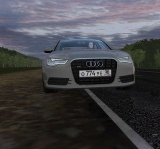 Audi A6 3.0 Tfsi Quattro Mod for City Car Driving v.1.5.6