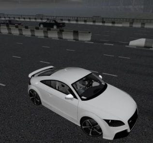 Audi Tt Rs Mod for City Car Driving v.1.5.6