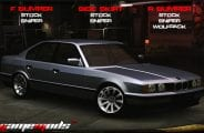 BMW 535 E34 Mod for NFS Underground 2