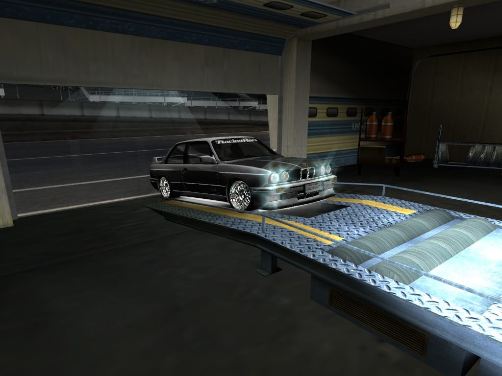 Bmw E30 M3 Final Bbs Rs Tyres Mod For Nfs Underground 2