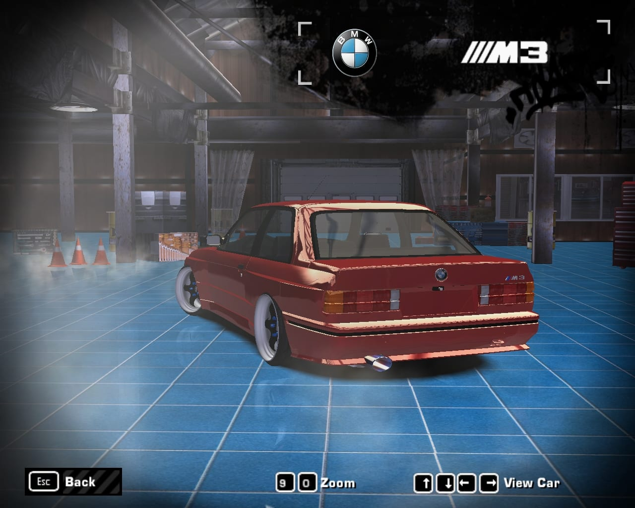 BMW M3 E30 (Wintershall) Mod for Need For Speed Most Wanted