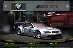 BMW M3 GT2 (2009) Mod for NFS Underground 2