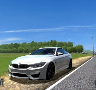BMW M4 F82 V1.5  Mod for City Car Driving v.1.5.6
