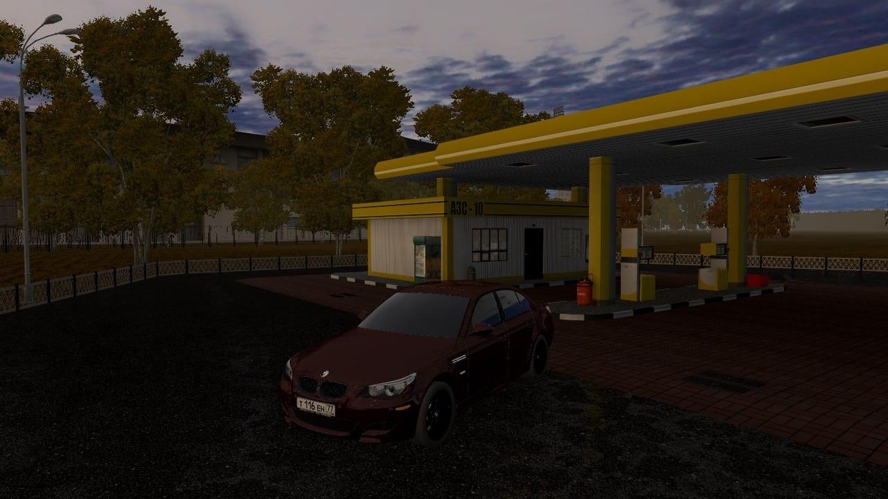 BMW M5 Тень Mod for City Car Driving v 1 5 1 - 1 5 6