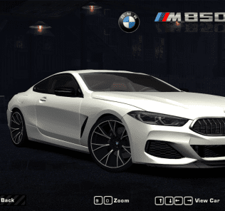 BMW M850i 2018 Mod for Need For Speed Most Wanted