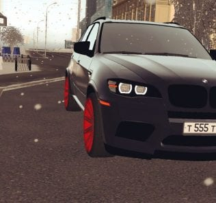 BMW X5M  Mod for City Car Driving v.1.5.5 - 1.5.6