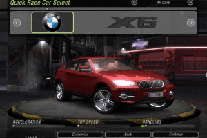 BMW X6 Mod for NFS Underground 2