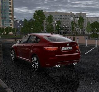 BMW X6M E71 + Hamman Version Mod for City Car Driving v.1.5.1 - 1.5.6
