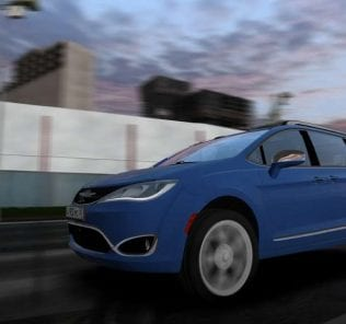 Chrysler Pacifica Limited 2017 Mod for City Car Driving v.1.5.1 - 1.5.6