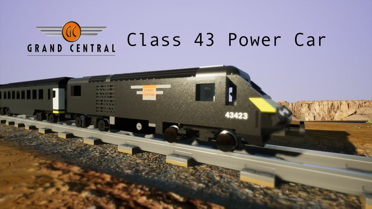 Class 43 Grand Central Trains (Valenta) Mod for Brick Rigs