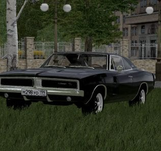 Dodge Charger 1969 Mod for City Car Driving v.1.5.1 - 1.5.6