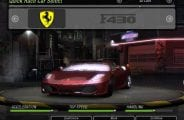 Ferrari F430 Coupe Mod for NFS Underground 2