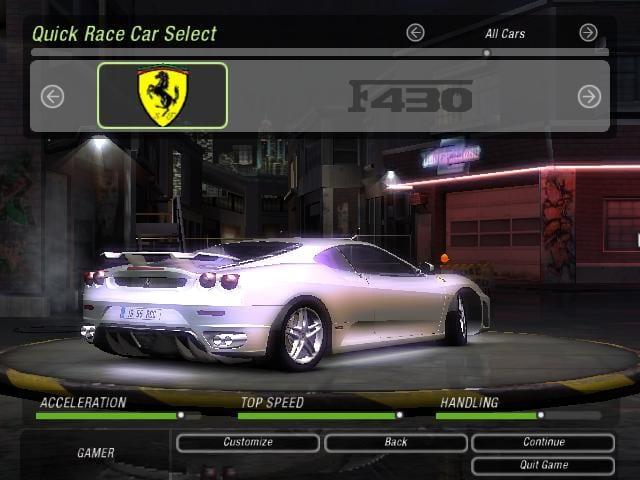 Ferrari F430 Coupe Mod For Nfs Underground 2