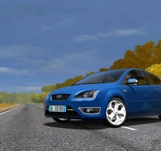 Ford Focus St Iii 2006 Mod for City Car Driving v.1.5.0 - 1.5.6