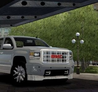 Gmc Sierra 2014 Mod for City Car Driving v.1.5.6