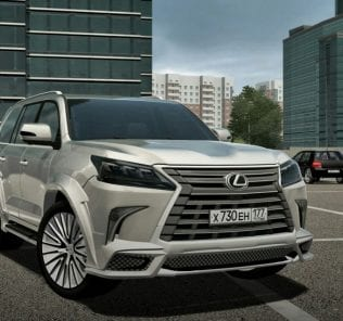 Lexus Lx570 Wald Mod for City Car Driving v.1.5.0 - 1.5.6