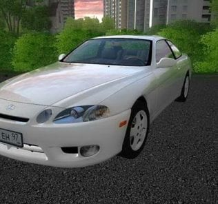 Lexus Sc300 1997 Mod for City Car Driving v.1.5.6
