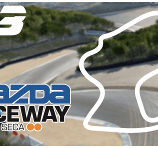 Mazda Raceway Laguna Seca Mod for Car Mechanic Simulator 2018
