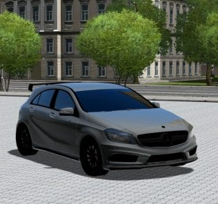 Mercedes-Benz A45 Amg Mod for City Car Driving v.1.5.1 - 1.5.4