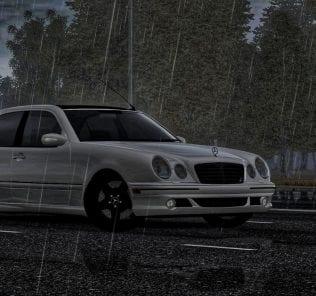 Mercedes-Benz E55 Amg W210 Mod for City Car Driving v.1.5.4 - 1.5.6