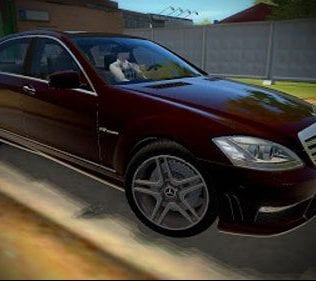 Mercedes Benz S65 Amg Mod for City Car Driving v.1.5.2 - 1.5.6