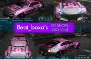 Nissan DC Shoes 350z Vinyl Mod for NFS Underground