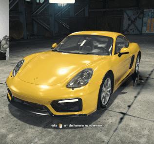 Porsche Cayman GTS Mod for Car Mechanic Simulator 2018