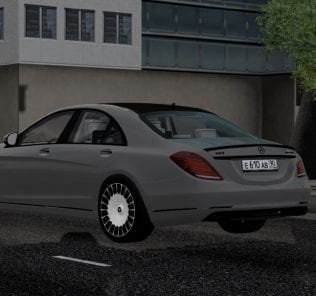 Rims for Maybach Mod for City Car Driving v.1.5.1 - 1.5.6