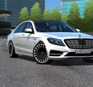 Rims for Mecedes-Benz S Class Mod for City Car Driving v.1.5.1 - 1.5.6