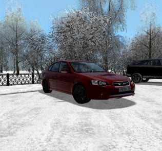 Subaru Legacy B4 2.0 Gt 2005 Mod for City Car Driving v.1.5.0 - 1.5.6