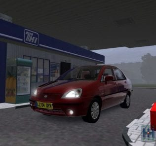 Suzuki Liana Mod for City Car Driving v.1.5.1 - 1.5.6