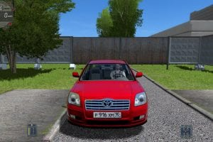 Toyota Avensis Sedan 2005 2.4 Vvt-I V1.0 Mod for City Car Driving v.1.5.6