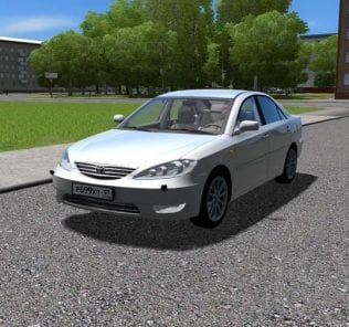 Toyota Camry 2.4 V30 2006 V1.1 Mod for City Car Driving v.1.5.6