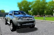 Toyota Hilux 3.0D 4Wd V1.1 Mod for City Car Driving v.1.5.6